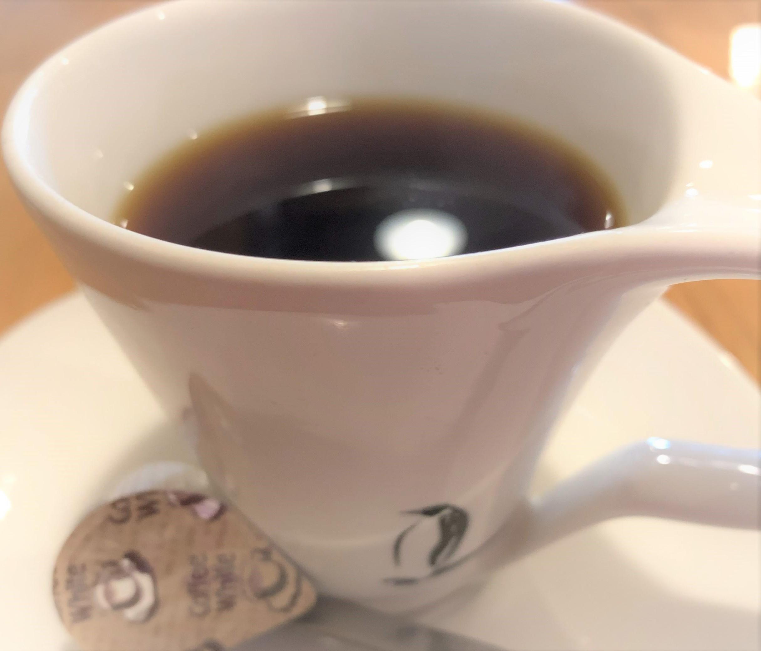 暑い日のコーヒー
